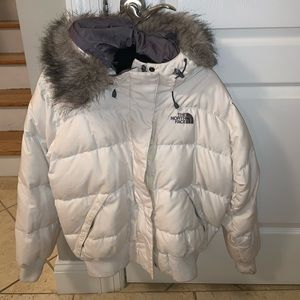 North face women's puffer coat